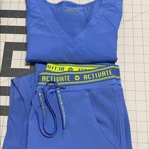 Women's scrub set